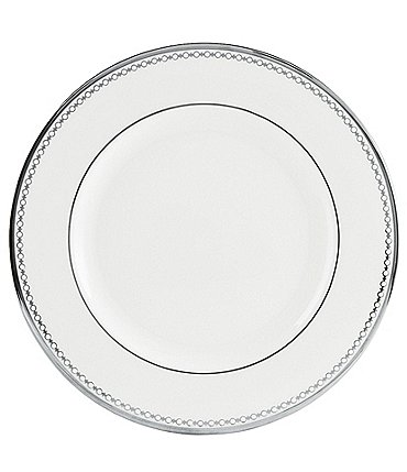 Image of Lenox Pearl Platinum Bone China Salad Plate