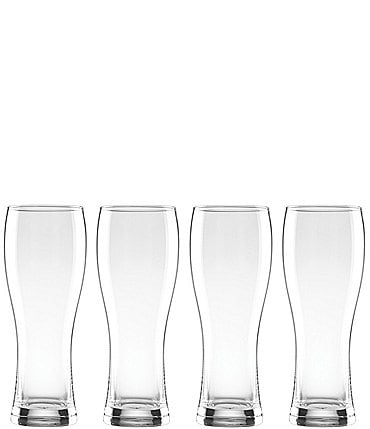 Image of Lenox Tuscany Classics 4-Piece Crystal Wheat Beer Glass Set