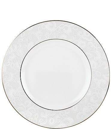 Image of Lenox Venetian Lace Accent Salad Plate