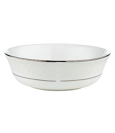 Image of Lenox Venetian Lace Platinum Bone China All-Purpose Bowl