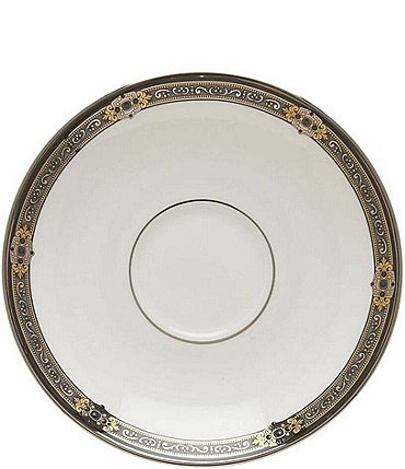 Image of Lenox Vintage Jewel Bone China Saucer