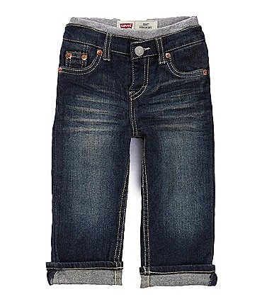 Image of Levi's® Baby Boys 3-24 Months Murphy Pull-On Denim Pants