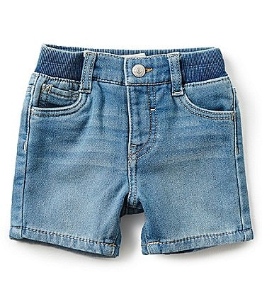 Image of Levi's® Baby 3-24 Months Denim Knit Shorts