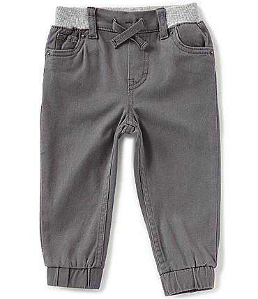 Image of Levi's® Baby Boys 3-24 Months Brushed-Twill Jogger Pants