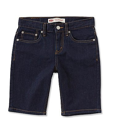 "Image of Levi's® Big Boys 8-20 502 Regular Taper Fit 6"" Shorts"