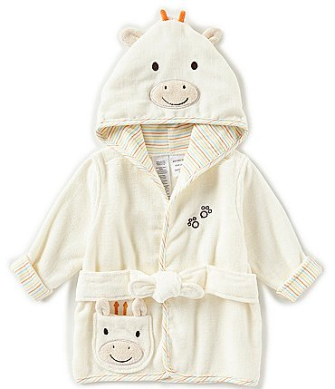 Image of Little Me Baby Newborn-9 Months Giraffe Hooded Bath Robe