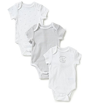 Image of Little Me Baby Newborn-9 Months Welcome to the World 3-Pack Bodysuits