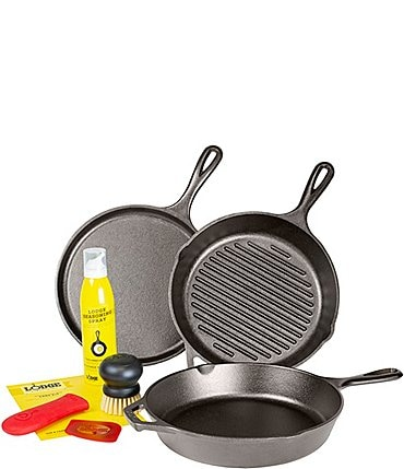 Image of Lodge Cast Iron Gourmet Set