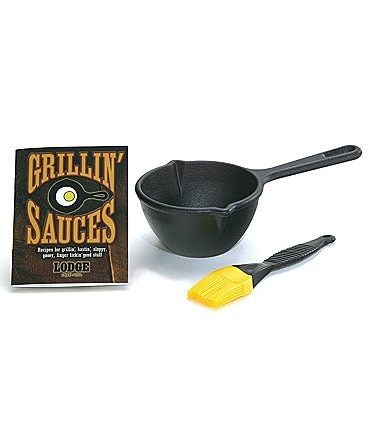 Image of Lodge Cast Iron Pro Logic Sauce Pot Kit