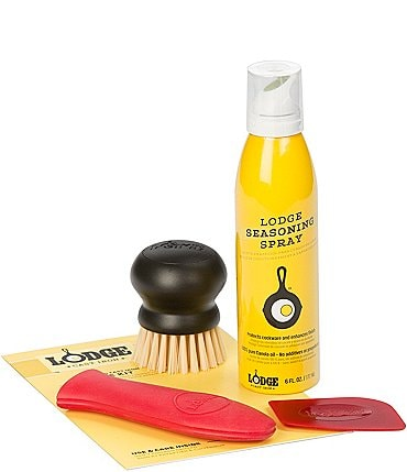 Image of Lodge Seasoned Cast Iron Care Kit