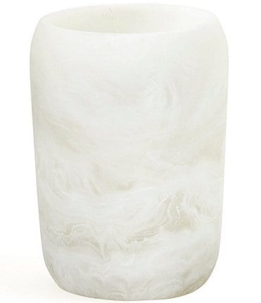 Image of Luxury Hotel Plaza Swirl Collection Tumbler/Toothbrush Holder