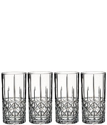 Image of Marquis by Waterford 4-Piece Brady Crystal Highball Glass Set