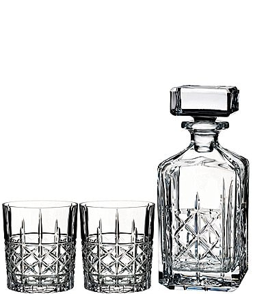 Image of Marquis by Waterford Brady Decanter & Double Old Fashioned Set