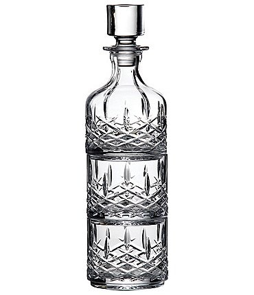 Image of Marquis by Waterford Crystal Markham Stacking Decanter & Tumbler Pair