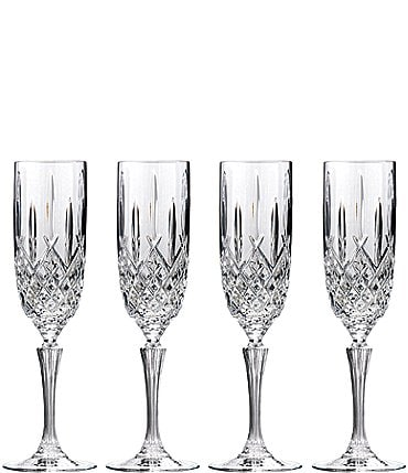 Image of Marquis by Waterford Markham 4-Piece Traditional Crystal Flute Set