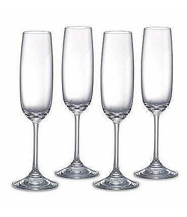 Image of Marquis by Waterford Vintage Tasting Collection Crystal Champagne Flutes, Set of 4