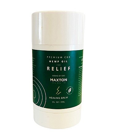 Image of Maxton Health Premium CBD Hemp Oil for Relief Healing Balm