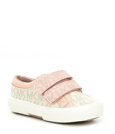 Image of MICHAEL Michael Kors Logo Girls' Ima Double-T Sneaker