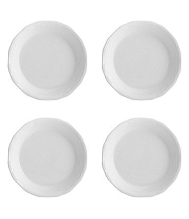 Image of Mikasa 4-Piece Antique White Dipping Plate Set