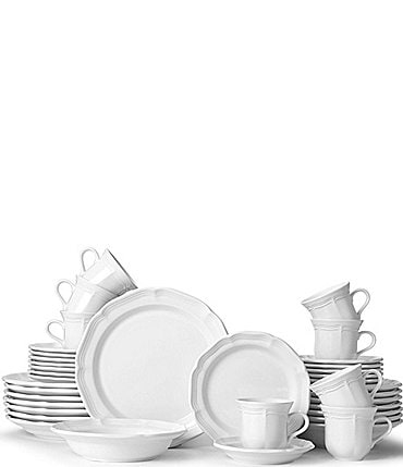 Image of Mikasa French Countryside 40-Piece Dinnerware Set