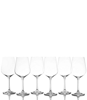 Image of Mikasa Gianna Red Wine Glases, Set of 6