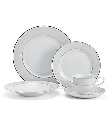 Image of Mikasa Parchment 40-Piece Dinnerware Set