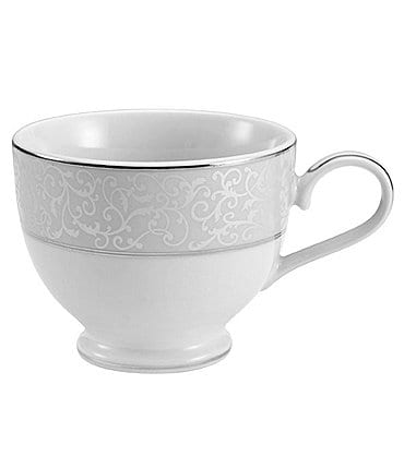 Image of Mikasa Parchment Ivy Scroll Platinum Porcelain Cup