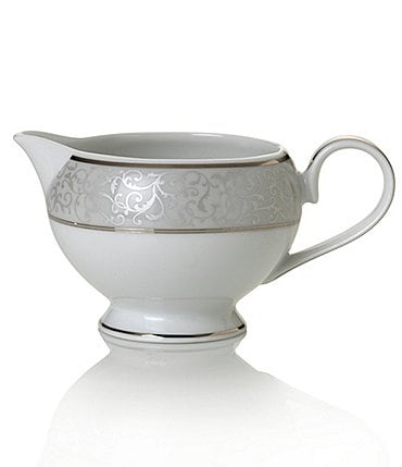 Image of Mikasa Parchment Porcelain China Creamer