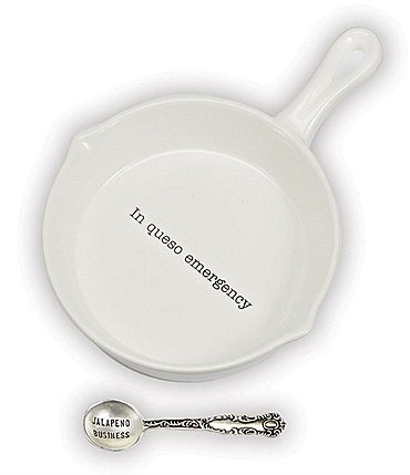 Image of Mud Pie 2-Piece Queso Skillet Set