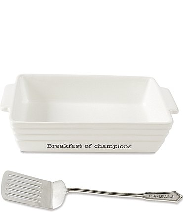 Image of Mud Pie Breakfast Serving 2-Piece Set