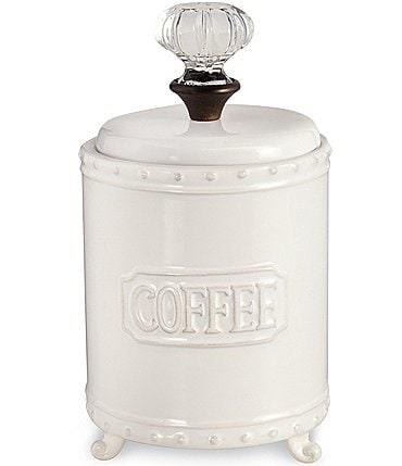 Image of Mud Pie Circa Door Knob Coffee Canister