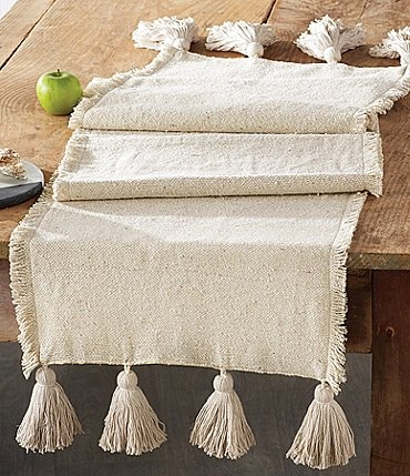 Image of Mud Pie Circa Ponchaa Table Runner