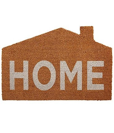 Image of Mud Pie Classic House Collection Home Door Mat