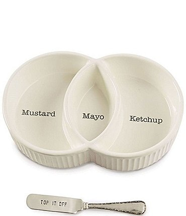 Image of Mud Pie Condiment Serving Set