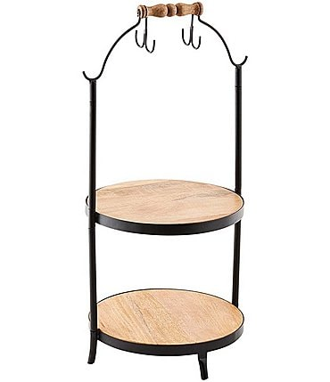 Image of Mud Pie Cup Stand Tiered Server