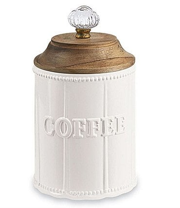 Image of Mud Pie Door Knob Coffee Canister