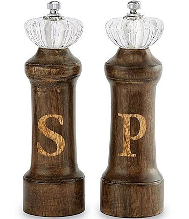 Image of Mud Pie Door Knob Salt & Pepper Grinder Set