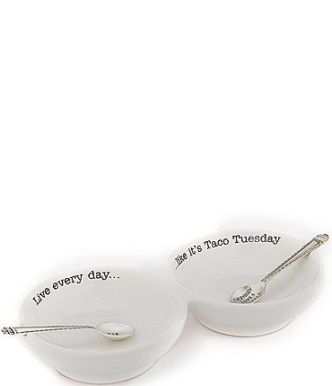 Image of Mud Pie Double Salsa Serving Set