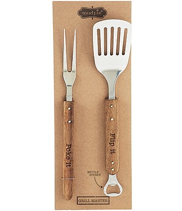 Image of Mud Pie Grill Master Utensil Set