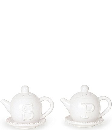 Image of Mud Pie Teapot Salt & Pepper Shaker Set