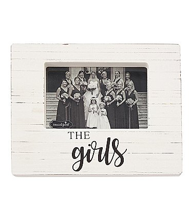 Image of Mud Pie The Girls Block Frame
