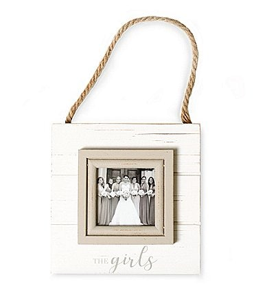 Image of Mud Pie The Girls Hanging Frame