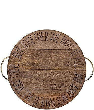 Image of Mud Pie Together Sentiment Lazy Susan