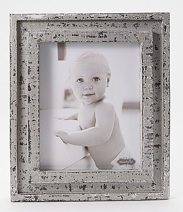 Image of Mud Pie Vintage Farmhouse Collection Distressed Wood Frame