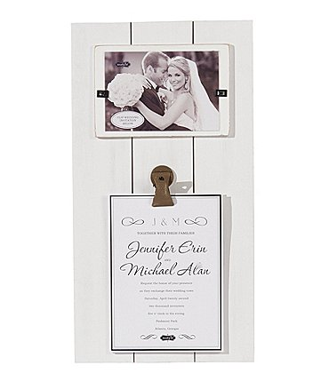 Image of Mud Pie Wedding Collection Invitation Clip Frame