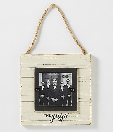 Image of Mud Pie Wedding Collection The Guys Door Hanger Frame