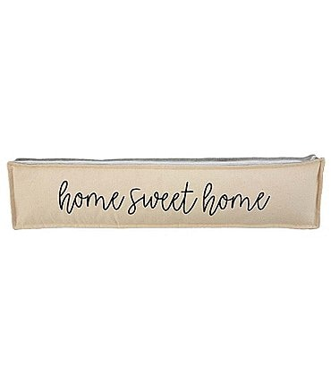 Image of Mud Pie Welcome Collection Home Sweet Home Gusseted Pillow