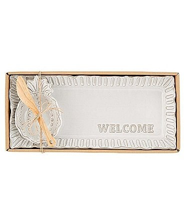 Image of Mud Pie Welcome Dip And Tray Set