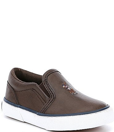 Image of Polo Ralph Lauren Boys' Bal Harbour II Slip On Sneakers Infant