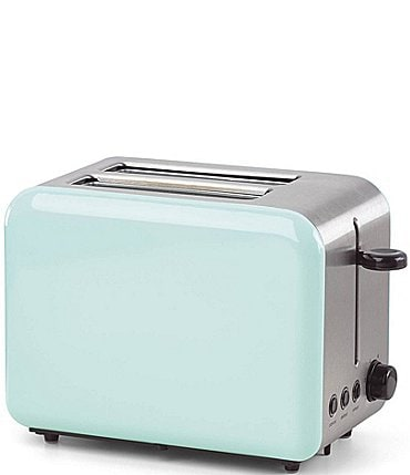 Image of kate spade new york All in Good Taste Turquoise 2-Slice Toaster